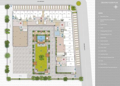 Project Image of 628.61 - 800.3 Sq.ft 2 BHK Apartment for buy in Ratnamani Trident Elanzza