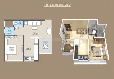 Gallery Cover Image of 620 Sq.ft 1 BHK Apartment for buy in Ashiana Panvel Pride, Kewale for 2970000