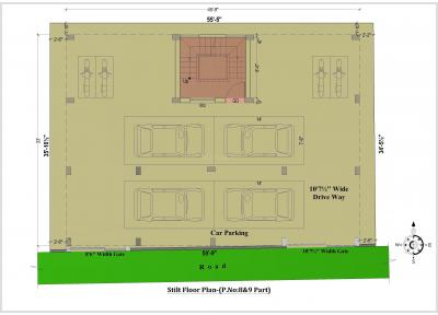 Project Image of 826 - 872 Sq.ft 2 BHK Apartment for buy in Chennai Sun Flower