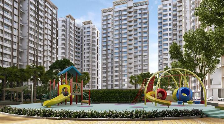 Project Image of 410.0 - 435.0 Sq.ft 1 BHK Apartment for buy in Raunak City Sector IV D7