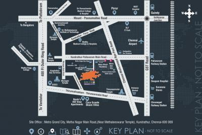Project Image of 500.0 - 5176.0 Sq.ft Residential Plot Plot for buy in The Chennai Metropolitan Metro Grand City