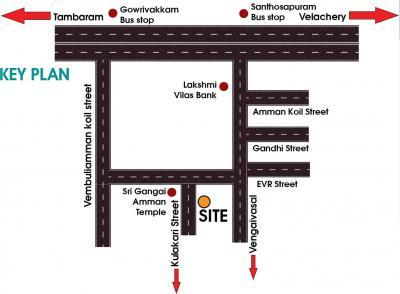 Project Image of 804.0 - 1260.0 Sq.ft 2 BHK Apartment for buy in Chendur Santhoshapuram Flat