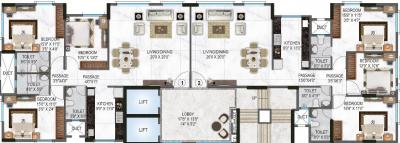 Project Image of 1224.0 - 1248.0 Sq.ft 3 BHK Apartment for buy in Concrete Sai Sansar