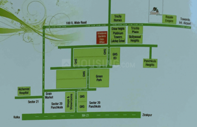 Project Image of 0 - 1849.99 Sq.ft 3 BHK Apartment for buy in  Vrindavan Gardens