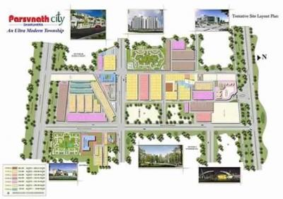 Project Image of 2160 - 8649 Sq.ft Residential Plot Plot for buy in Parsvnath City
