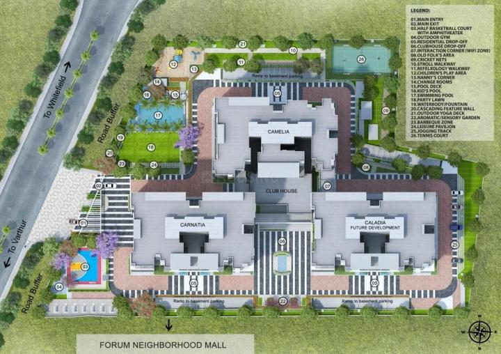 Project Image of 1352.09 - 3437.0 Sq.ft 2 BHK Apartment for buy in Incor Carmel Heights