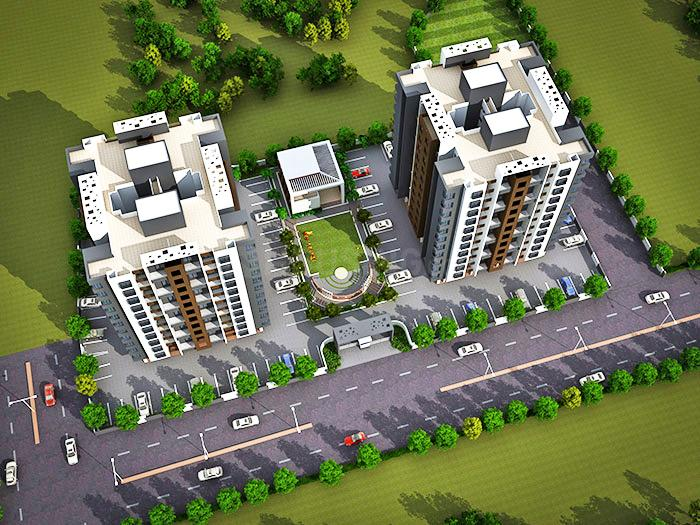 Project Image of 647.0 - 1016.0 Sq.ft 1 BHK Apartment for buy in Geeta Myrah