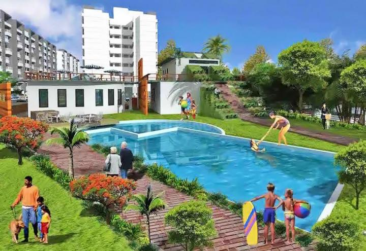 Project Image of 773.39 - 829.68 Sq.ft 2 BHK Apartment for buy in Sancheti Belcastel Phase II