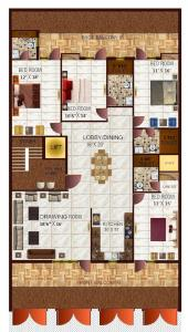 Project Image of 0 - 3150.0 Sq.ft 4 BHK Apartment for buy in Richlook Gracious Floors 2