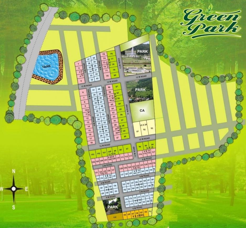 Project Image of 1200.0 - 4000.0 Sq.ft Residential Plot Plot for buy in Rai Green Park