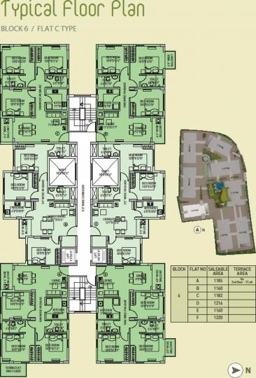 Project Image of 569.0 - 912.0 Sq.ft 2 BHK Apartment for buy in Loharuka Freshia 2