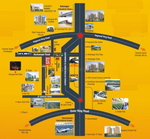 Project Image of 1264.54 - 2721.55 Sq.ft Residential Plot Plot for buy in M S Simhapuri