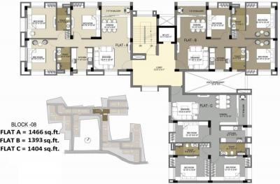 Project Image of 1214.0 - 1517.0 Sq.ft 2 BHK Apartment for buy in Vedic Sanjeeva Kolshree