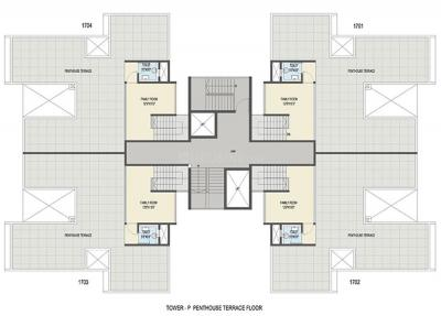 Project Image of 734 - 3022 Sq.ft 2 BHK Apartment for buy in Goel Ganga Ganga Platino Building P Q R