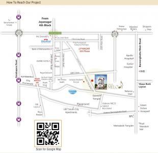 अर्बन मैलोडी में खरीदने के लिए 1055.0 - 1255.0 Sq.ft 2 BHK अपार्टमेंट प्रोजेक्ट  की तस्वीर