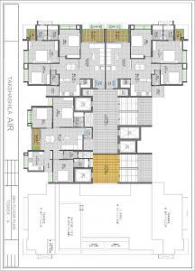 Gallery Cover Image of 1660 Sq.ft 3 BHK Apartment for buy in Takshashila Air, Ellisbridge for 9960000
