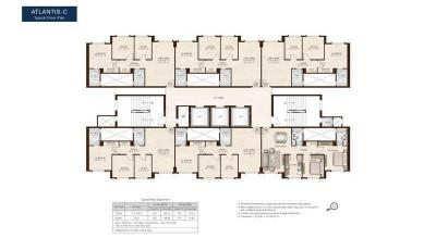 Project Image of 750.0 - 1050.0 Sq.ft 2 BHK Apartment for buy in Hiranandani Zen Atlantis