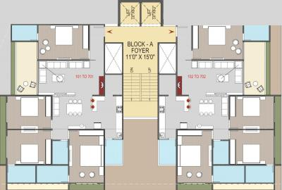 Project Image of 1496.83 - 1506.95 Sq.ft 4 BHK Apartment for buy in Kala Samartheshwar