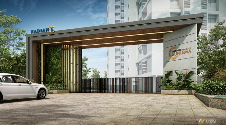 Project Image of 992.0 - 2457.0 Sq.ft 2 BHK Apartment for buy in Radiance Suprema