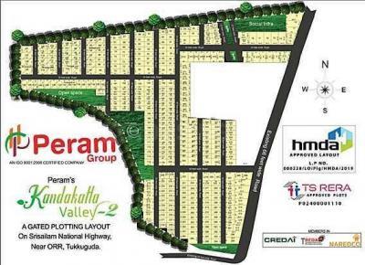 Project Image of 1373.0 - 4784.0 Sq.ft Residential Plot Plot for buy in Peram Kandakatla Valley II