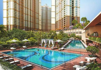 Gallery Cover Image of 1365 Sq.ft 2 BHK Apartment for buy in Paradise Sai World City, Panvel for 9828000