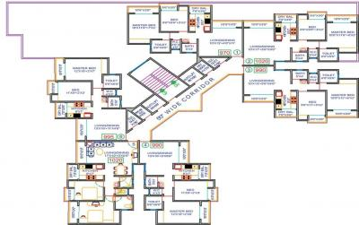 Project Image of 990 - 1020 Sq.ft 2 BHK Apartment for buy in Ostwal Ostwal Orchid 1 2 3 4 5