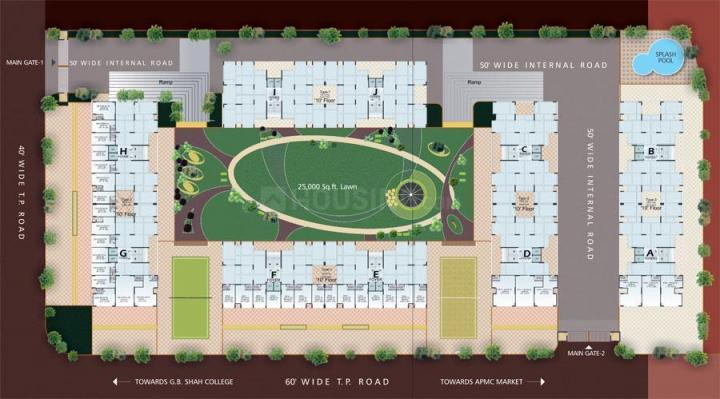 Project Image of 1125 - 1215 Sq.ft 2 BHK Apartment for buy in Dharmadev Swaminarayan Park 2
