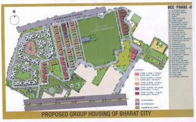 Gallery Cover Image of 1550 Sq.ft 3 BHK Apartment for buy in BCC Bharat City, Indraprashtha Yojna for 4250000