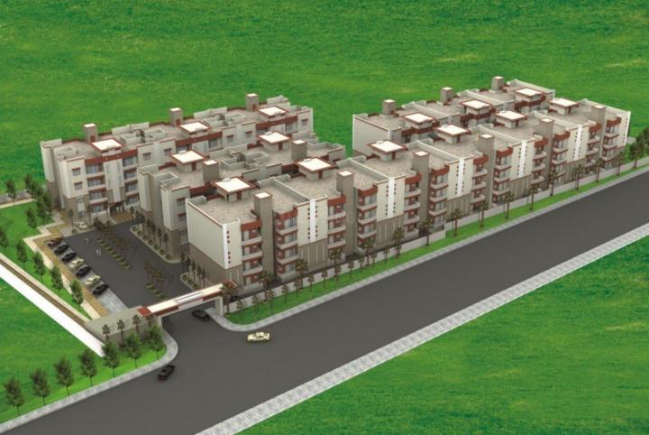 Project Image of 450 - 775 Sq.ft 1 RK Apartment for buy in Pushpanjali Vaidik Resort Apartment