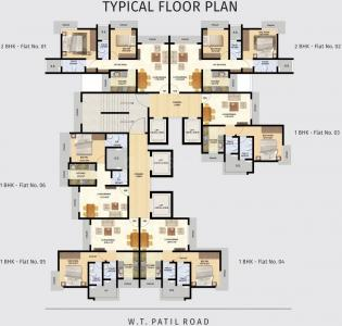 Project Image of 483.0 - 816.0 Sq.ft 1 BHK Apartment for buy in Tridhaatu Prarambh