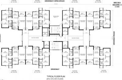 Project Image of 0 - 633.0 Sq.ft 2.5 BHK Apartment for buy in Nanded Kalashree