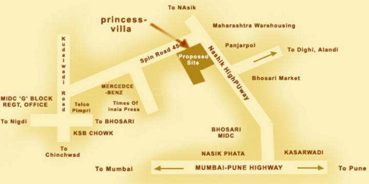 Project Image of 1315.0 - 2214.0 Sq.ft 2 BHK Villa for buy in Siddhivinayak Princess Villa