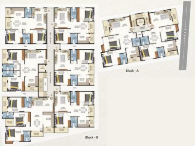 Project Image of 1044.0 - 1500.0 Sq.ft 2 BHK Apartment for buy in Ramaiah Arcade