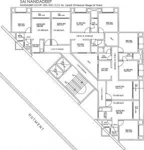 साई नंदादीप में खरीदने के लिए 338 - 562 Sq.ft 1 BHK अपार्टमेंट प्रोजेक्ट  की तस्वीर