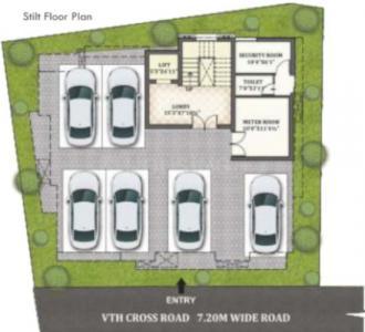 वीजीएन सैंडस्टोन में खरीदने के लिए 1218.0 - 1287.0 Sq.ft 2 BHK अपार्टमेंट प्रोजेक्ट  की तस्वीर