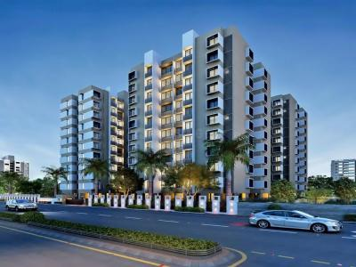 Gallery Cover Image of 1440 Sq.ft 3 BHK Apartment for rent in Zundal for 13000