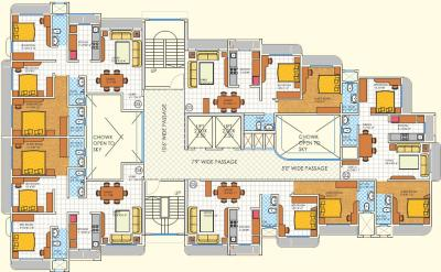 Project Image of 602.0 - 800.0 Sq.ft 2 BHK Apartment for buy in DBR Paramount Heights