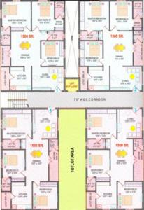 Project Image of 0 - 1500 Sq.ft 3 BHK Apartment for buy in Supriya Splendour