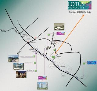 Project Image of 2350.0 - 2587.0 Sq.ft 3.5 BHK Apartment for buy in 3C Lotus Panache Island