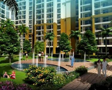 Gallery Cover Image of 800 Sq.ft 1 BHK Apartment for buy in Indiabulls Greens, Kon for 5500000