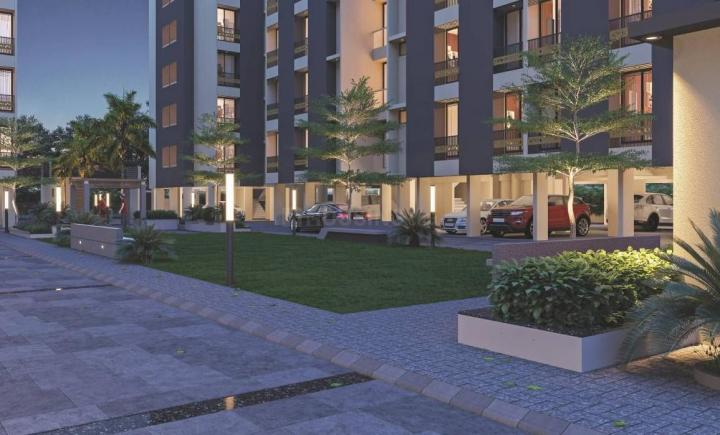Project Image of 389.22 - 555.85 Sq.ft 1 BHK Apartment for buy in Sahjanand Height