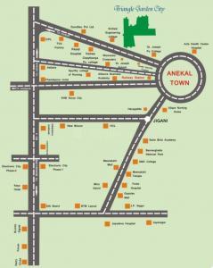 Anish Triangle Garden City