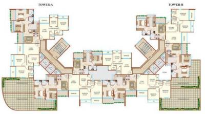Gallery Cover Image of 1050 Sq.ft 2 BHK Apartment for rent in Prem Amber Kamothe, Kamothe for 14000
