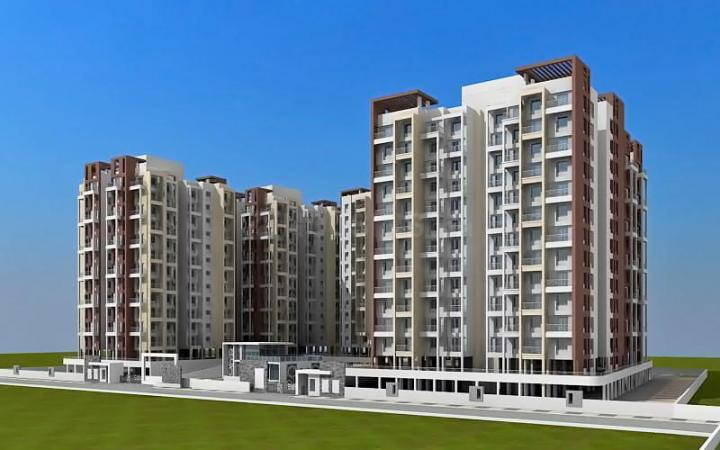 Project Image of 684.0 - 908.0 Sq.ft 2 BHK Apartment for buy in Ranjeet Shree Siddhivinayak Platinum Park