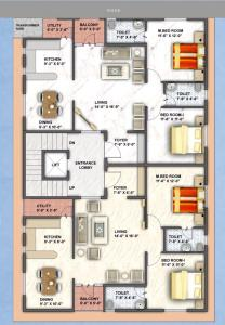 Project Image of 1130 - 1147 Sq.ft 2 BHK Apartment for buy in Happy Home Prithvi