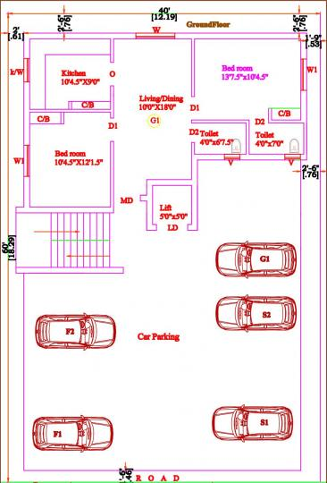 Project Image of 865.0 - 1189.0 Sq.ft 2 BHK Apartment for buy in Sai Sudha Flats