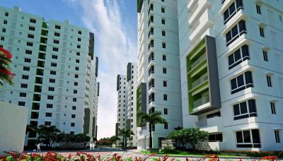 Gallery Cover Image of 1860 Sq.ft 3 BHK Apartment for rent in Ramky One Galaxia, Nallagandla for 35000