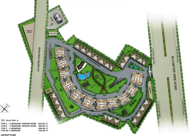 Project Image of 0 - 3754.0 Sq.ft 4 BHK Villa for buy in Mapsko Casa Bella Villas