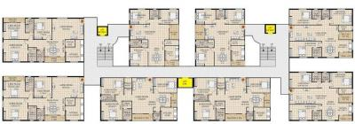 Project Image of 1380.0 - 2070.0 Sq.ft 3 BHK Apartment for buy in Koven Constructions Surya Towers