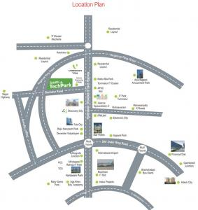 Project Image of 1323 - 1800 Sq.ft Residential Plot Plot for buy in Subhagruha Sukrithi Tech Park
